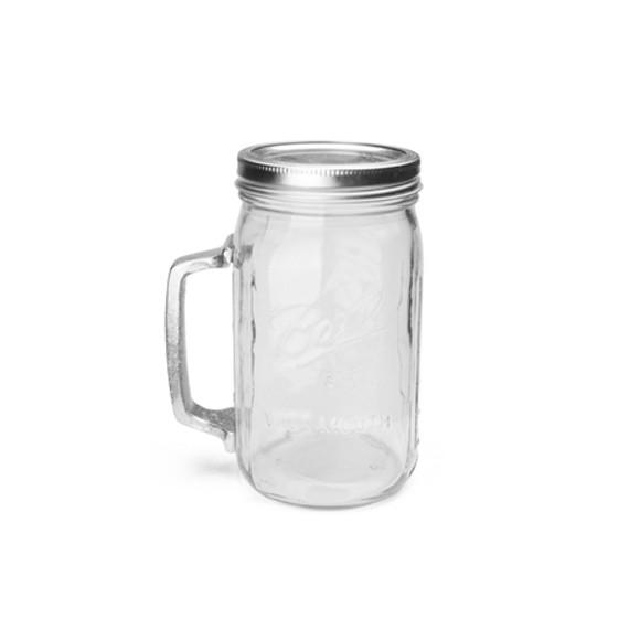 おしゃれなビンのグラス レッドネック メイソンジャー ガラス瓶 コップ