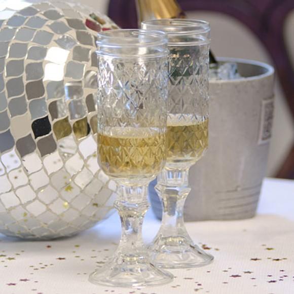 おしゃれなビンのグラス レッドネック メイソンジャー ガラス瓶 コップ ペアセット
