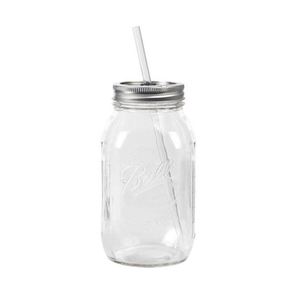 おしゃれなビンのグラス レッドネック ガズラー メイソンジャー ガラス瓶 コップ
