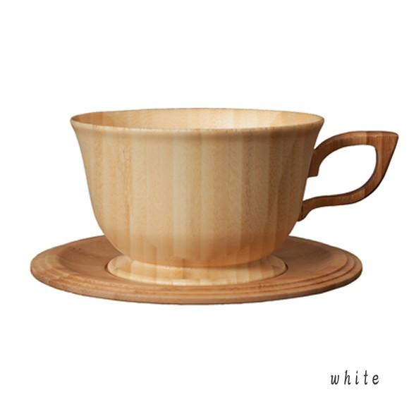 RIVERET 竹製のティーカップ&ソーサー