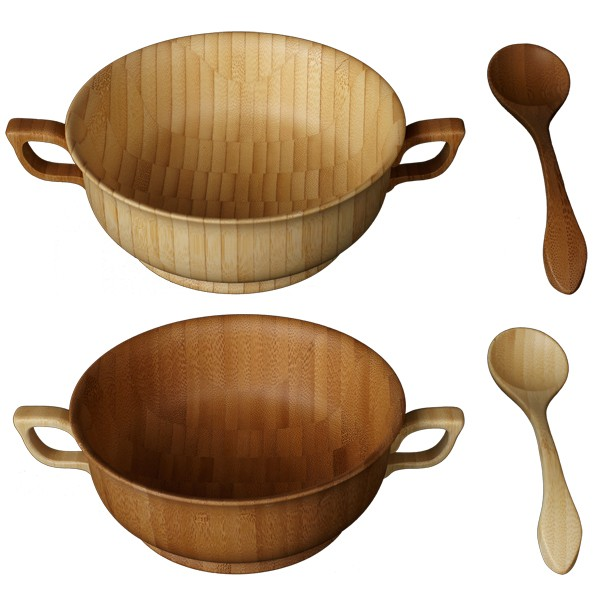 RIVERET 竹製 グラス 食器 カトラリー