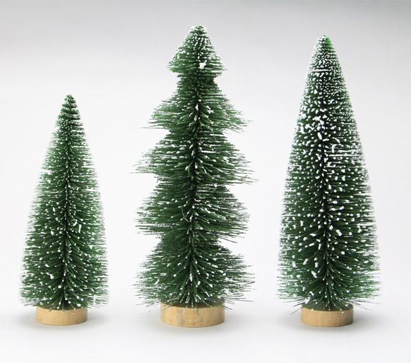 スノーツリー 3本セット クリスマスツリー クリスマス オブジェ