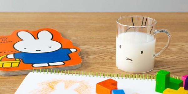 ミッフィー マグカップ グラス かわいい おしゃれ 耐熱ガラスマグ コップ 耐熱グラス ディックブルーナ x ジェニアル 子供用 キッズ 人気 軽い