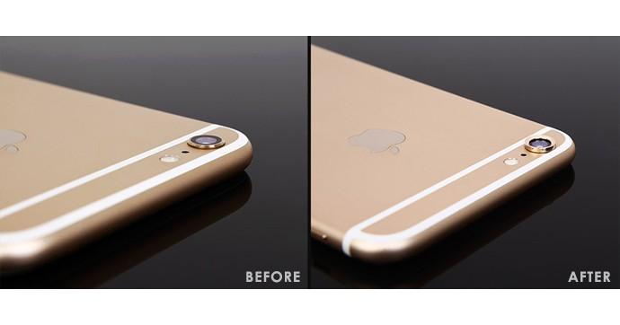 レンズカバー iPhone
