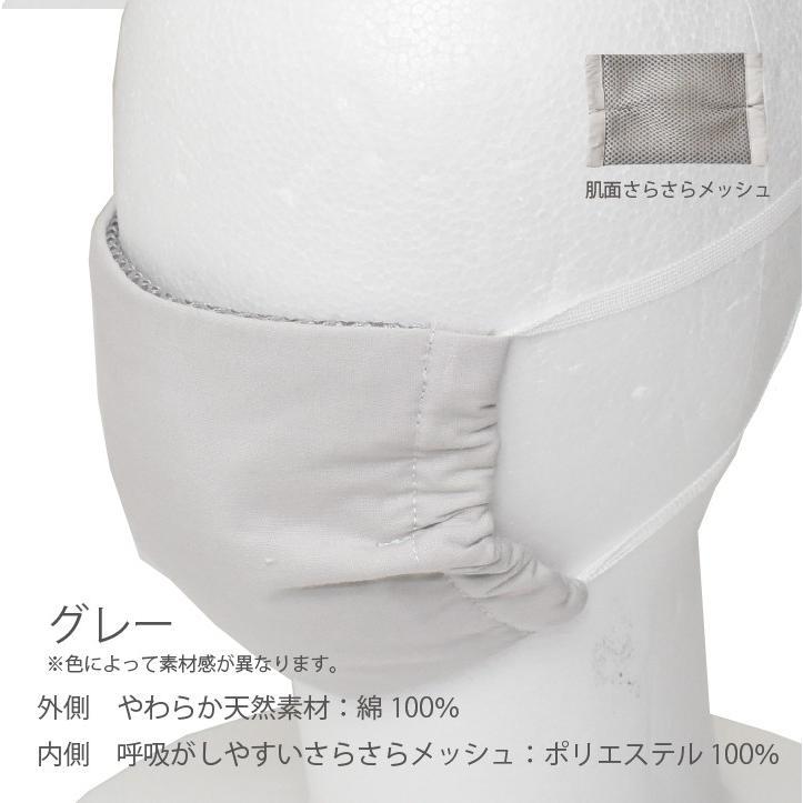 ひもタイプ オーシンウォーターマスク さらさらメッシュ 2枚入り 水でヒンヤリ 洗える 布マスク 大人用 子供用 小さめ 日本製 夏用 呼吸がしやすい|osin|09