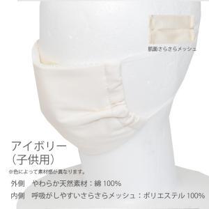 熱中症対策!ウォーターマスク さらさらメッシュ 2枚入り 水でヒンヤリ 洗える 布マスク 大人用 子供用 小さめ 日本製 夏用 呼吸がしやすい 父の日 オーシン|osin|12