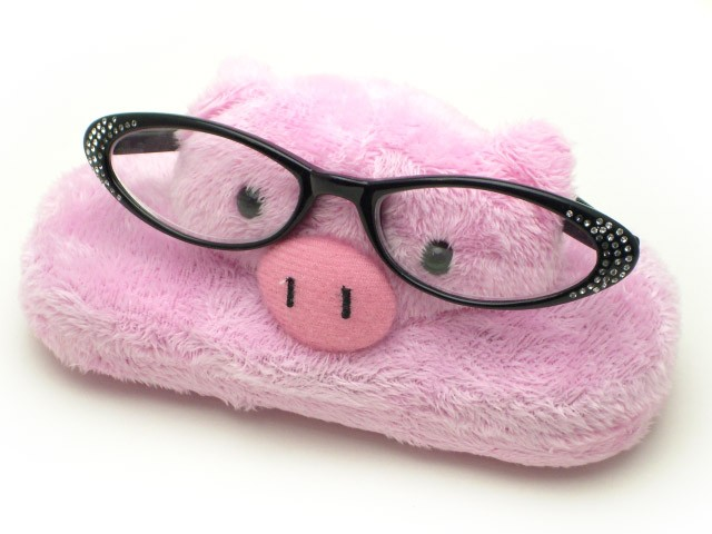 メガネケース メガネスタンド  メガネ置き  メガネ立て  動物 さる パンダ ぶた クマ ねこ 薔薇雑貨のおしゃれ姫