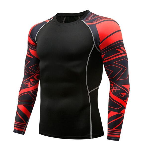 加圧シャツ アンダーシャツ メンズ 長袖 コンプレッションウェア トレーニングウェア 加圧インナー 吸汗速乾 運動着 おしゃれ|otasukemann|25