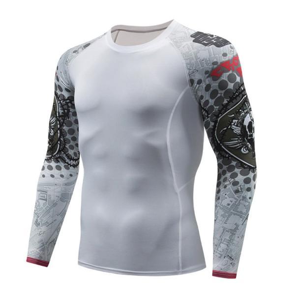 加圧シャツ アンダーシャツ メンズ 長袖 コンプレッションウェア トレーニングウェア 加圧インナー 吸汗速乾 運動着 おしゃれ|otasukemann|21