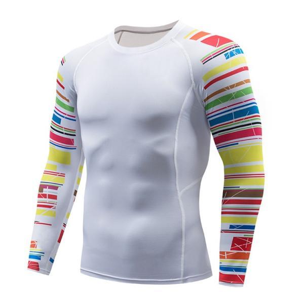 加圧シャツ アンダーシャツ メンズ 長袖 コンプレッションウェア トレーニングウェア 加圧インナー 吸汗速乾 運動着 おしゃれ|otasukemann|19