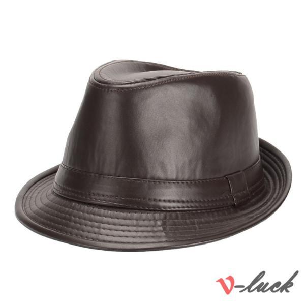 中折れ帽 メンズ 帽子 おしゃれ ハット 中折れハット 紫外線防止 日よけ帽子 紳士用 フェルトハット 頭周り58CM 2019 セール|otasukemann|24
