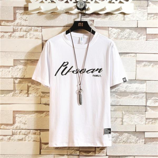 夏服 Tシャツ メンズ 半袖Tシャツ プリント カジュアル ルームウェア 部屋着 お兄系 ティーシャツ おしゃれ|otasukemann|14