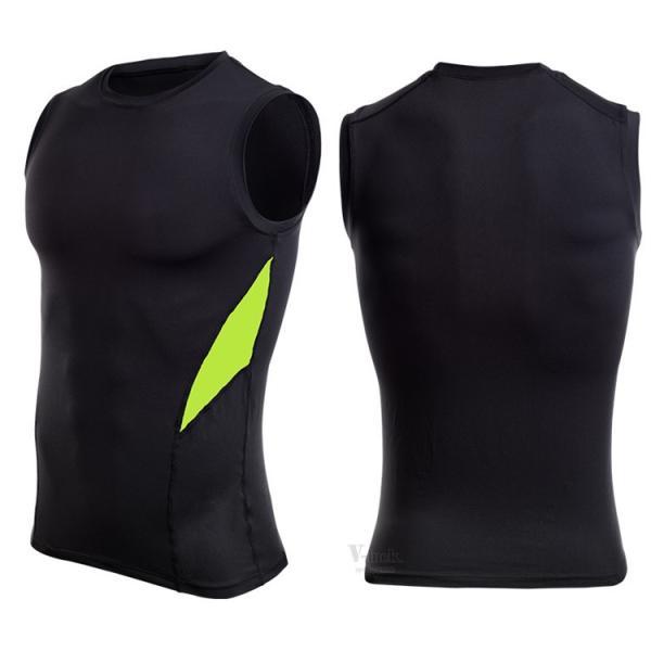 加圧シャツ コンプレッションウェア メンズ アンダーシャツ タンクトップ 加圧インナー 半袖Tシャツ ノースリーブ おしゃれ 吸汗速乾 夏 otasukemann 15