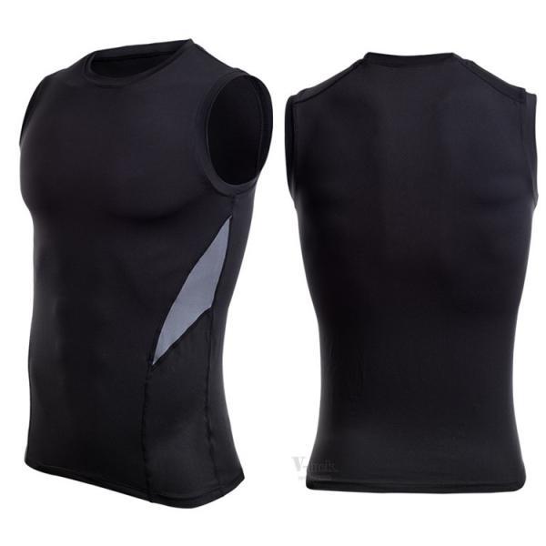 加圧シャツ コンプレッションウェア メンズ アンダーシャツ タンクトップ 加圧インナー 半袖Tシャツ ノースリーブ おしゃれ 吸汗速乾 夏 otasukemann 16