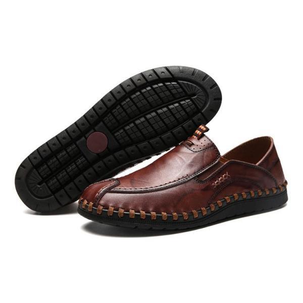 ローファーシューズ メンズ 紳士靴 スリッポン モカシン コンフォートシューズ 靴 リラックス オシャレ ドライビングシューズ リゾート 春夏|otasukemann|19