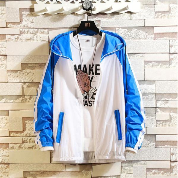 ジャケット メンズ UVカットパーカー マウンテンパーカー 薄手ジャケット ウィンドブレーカー アウトドア おしゃれ otasukemann 19