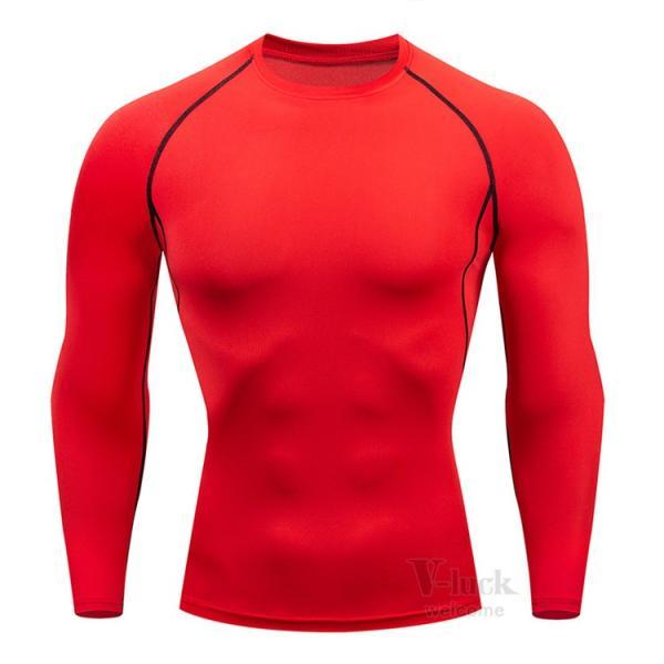 加圧シャツ メンズ アンダーシャツ Tシャツ 加圧インナー コンプレッションウェア 長袖 2019新作|otasukemann|26