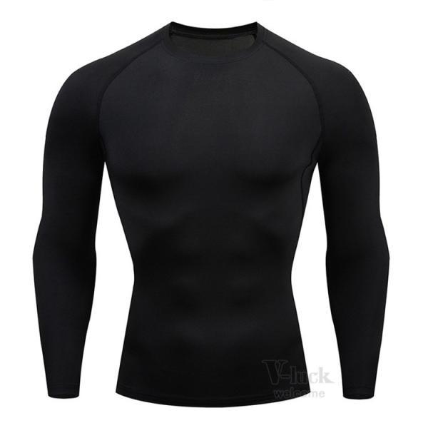 加圧シャツ メンズ アンダーシャツ Tシャツ 加圧インナー コンプレッションウェア 長袖 2019新作|otasukemann|28