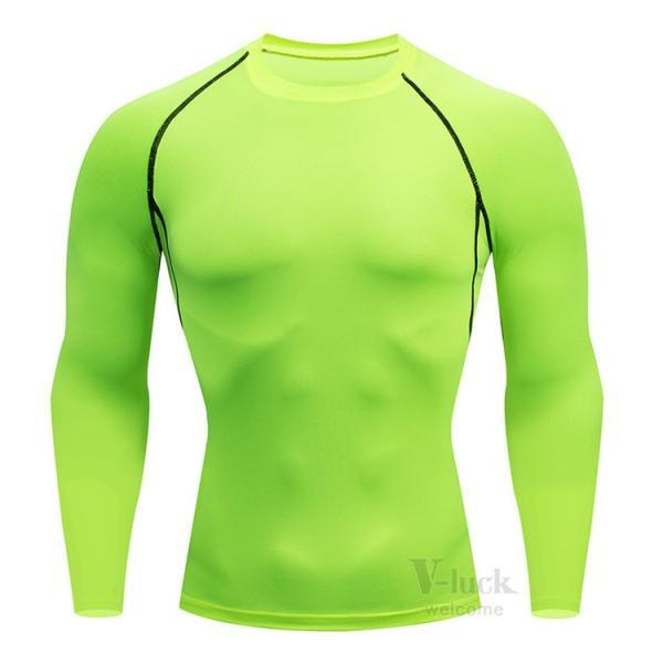 加圧シャツ メンズ アンダーシャツ Tシャツ 加圧インナー コンプレッションウェア 長袖 2019新作|otasukemann|24