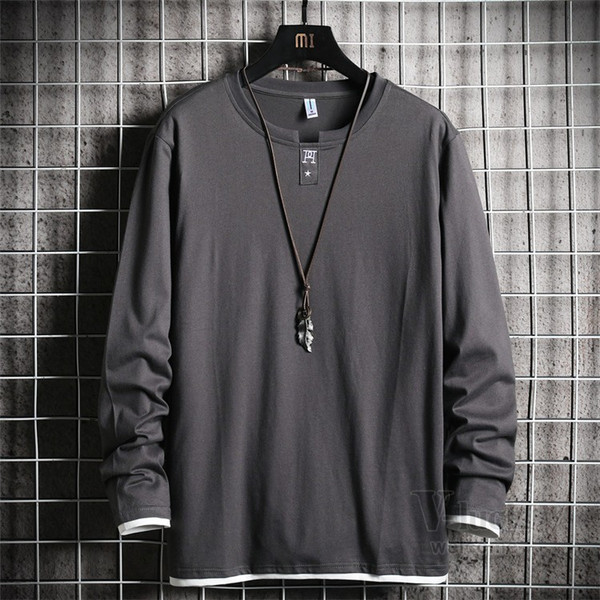 Tシャツ メンズ 長袖 ロングTシャツ カジュアル トップス ティーシャツ スリム 長袖Tシャツ 薄手 紳士 春秋|otasukemann|23