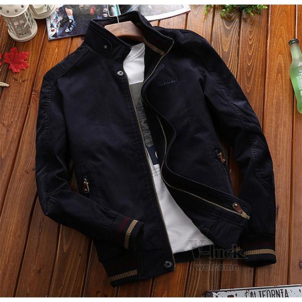 ミリタリージャケット メンズ フライトジャケット ジャンパー ファッション スイングトップ お兄系 アウター 欧米風|otasukemann|16