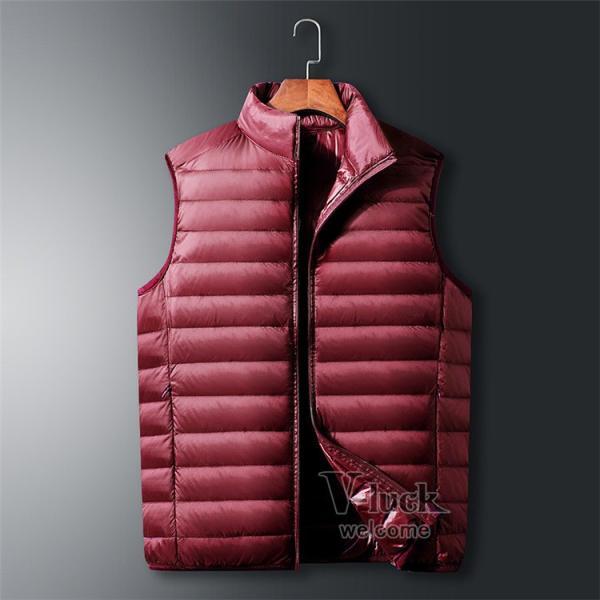 ダウンベスト メンズ ベスト 暖かいベスト キルティング ジャケット メンズベスト 防寒 おしゃれ アウター|otasukemann|13