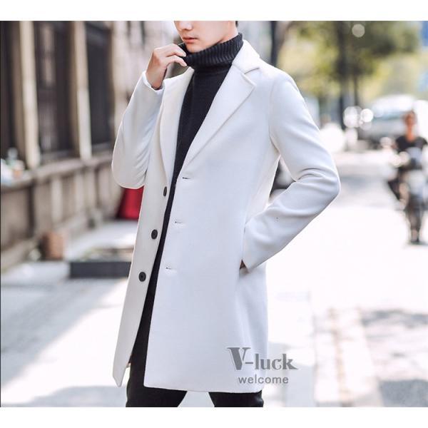 チェスターコート メンズ トレンチコート ビジネスジャケット 中綿ジャケット メンズコート 防寒 秋冬|otasukemann|36