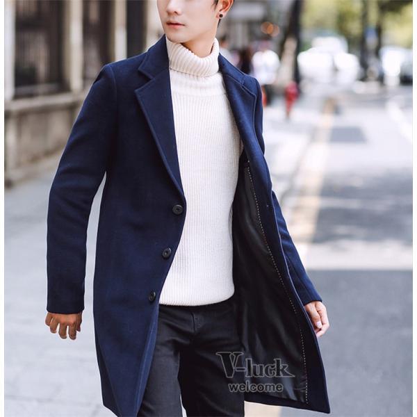 チェスターコート メンズ トレンチコート ビジネスジャケット 中綿ジャケット メンズコート 防寒 秋冬|otasukemann|22