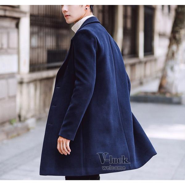 チェスターコート メンズ トレンチコート ビジネスジャケット 中綿ジャケット メンズコート 防寒 秋冬|otasukemann|30