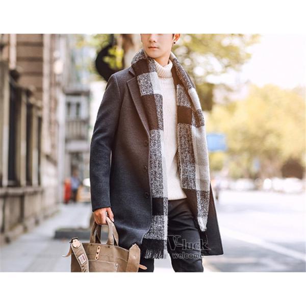 チェスターコート メンズ トレンチコート ビジネスジャケット 中綿ジャケット メンズコート 防寒 秋冬|otasukemann|31