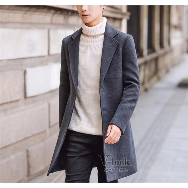チェスターコート メンズ トレンチコート ビジネスジャケット 中綿ジャケット メンズコート 防寒 秋冬|otasukemann|23