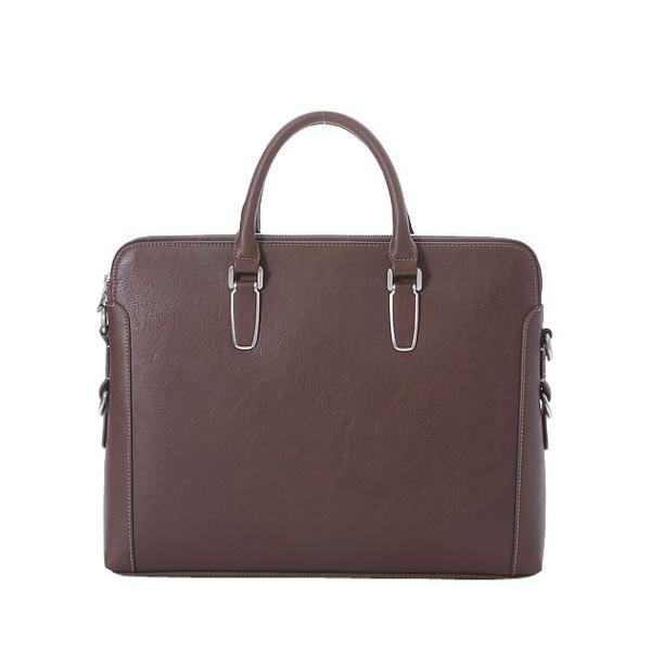 ビジネスバッグ ブリーフケース ダブル天ファスナー おしゃれ iPad収納 A4 男性 メンズ かばん 鞄 プレゼント Otias オティアス|otias|12