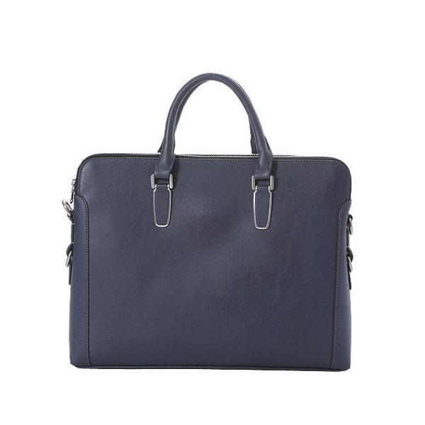 ビジネスバッグ ブリーフケース ダブル天ファスナー おしゃれ iPad収納 A4 男性 メンズ かばん 鞄 プレゼント Otias オティアス|otias|13