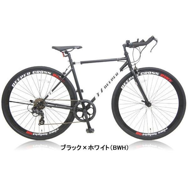 【特典付き】 クロスバイク 700c 自転車 初心者 シマノ製7段変速 ブルホーンハンドル 前輪クイックレリーズ DEEPER DE-5048|otoko-style|21