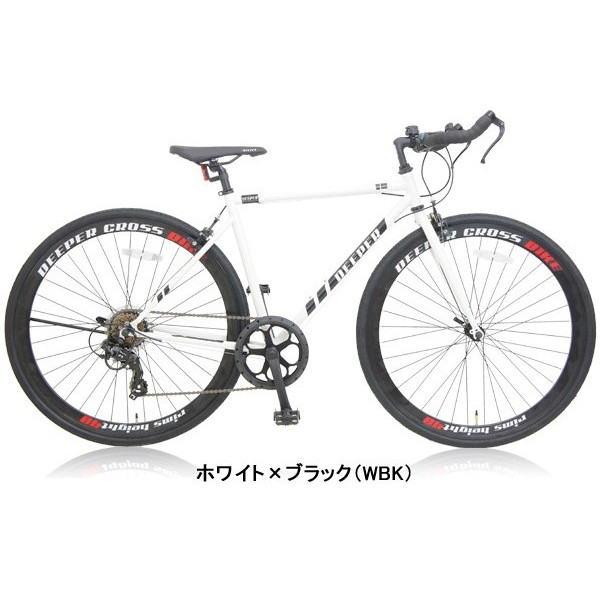 【特典付き】 クロスバイク 700c 自転車 初心者 シマノ製7段変速 ブルホーンハンドル 前輪クイックレリーズ DEEPER DE-5048|otoko-style|23