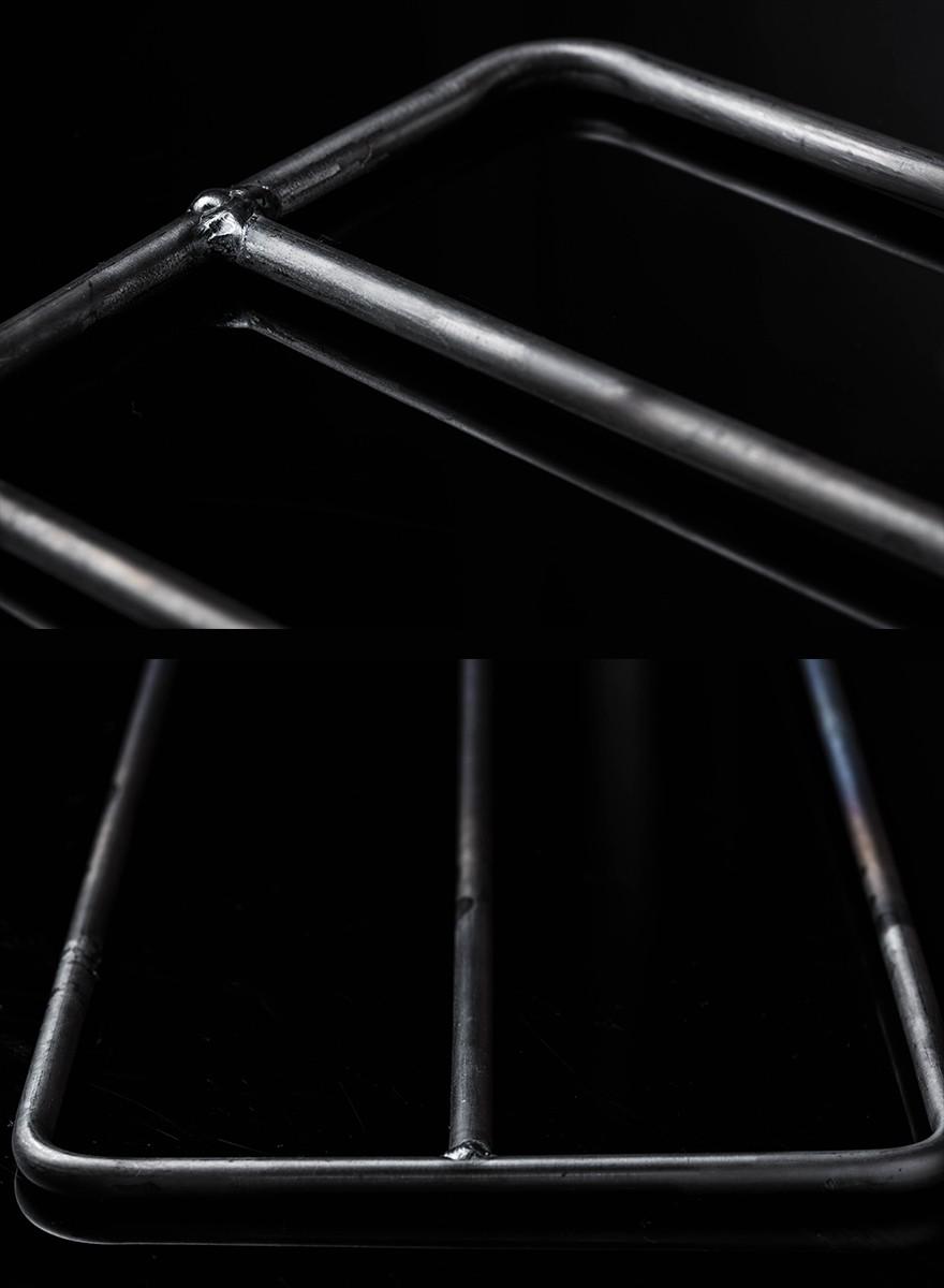 焚き火用 ゴトク Sサイズ たき火ゴトク S  純チタン中空パイプ  焚き火台 調理台 アウトドア サバイバル ブッシュクラフト キャンプ 登山 釣り