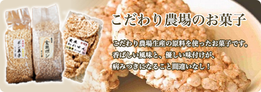 おいしいお米のお菓子