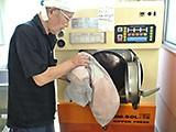 3.丸洗い作業