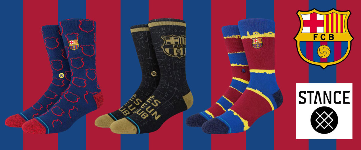 STANCE x FCバルセロナ