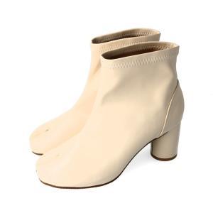 足袋ストレッチブーツ 足袋ブーツ ショートブーツ 履きやすい レディース 黒 白 送料無料|welleg from アウトレットシューズ