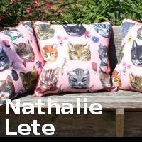 ◆ナタリーレテ・デザイン・クッションカバーコレクション◆