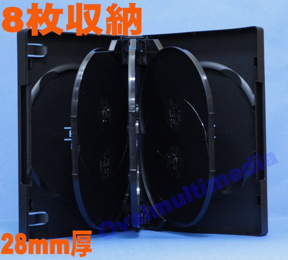 OVシリーズ 新8枚収納トールケース ブラック