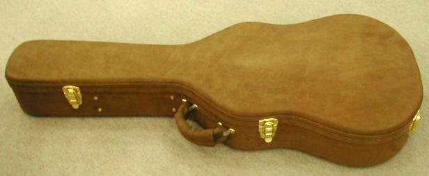 スエード クラシックギターケース