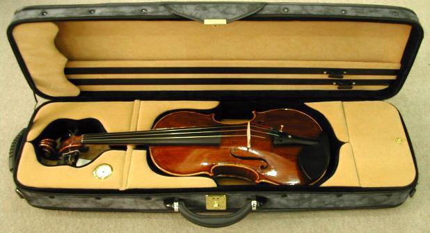 バイオリン内装