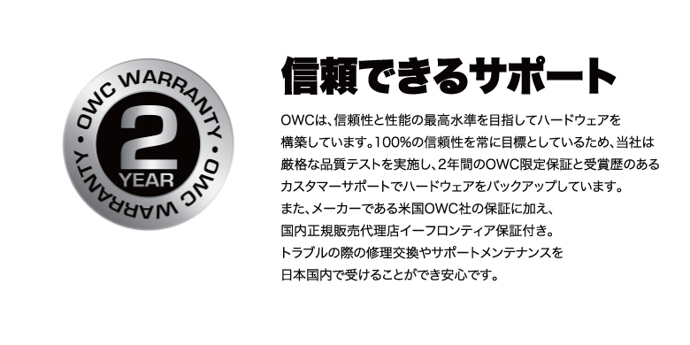 OWC Thunderbolt Dock 説明10