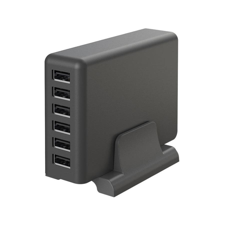 USB充電器 Type-A×6ポート ACアダプタ 合計最大12A出力 MOTTERU|owltech|09