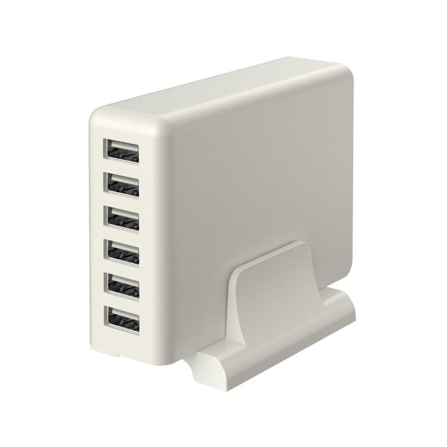 USB充電器 Type-A×6ポート ACアダプタ 合計最大12A出力 MOTTERU|owltech|10