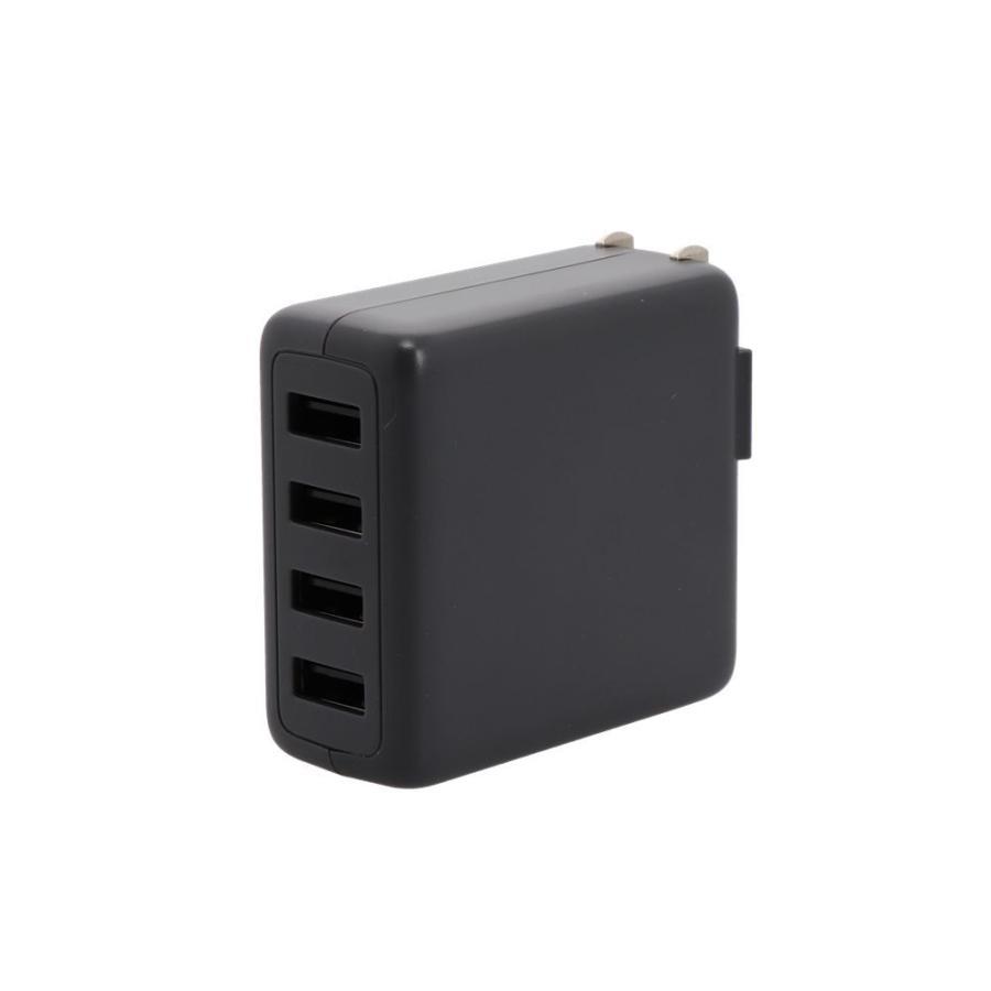 USB充電器 ACアダプタ Type-A×4ポート MOTTERU 宅C owltech 09