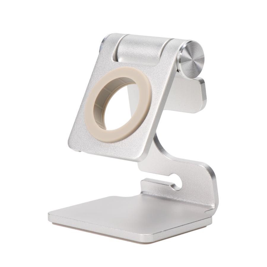 アップルウォッチスタンド Apple Watch 充電スタンド 縦置き 横置き 卓上 角度調節可能 MOTTERU owltech 09