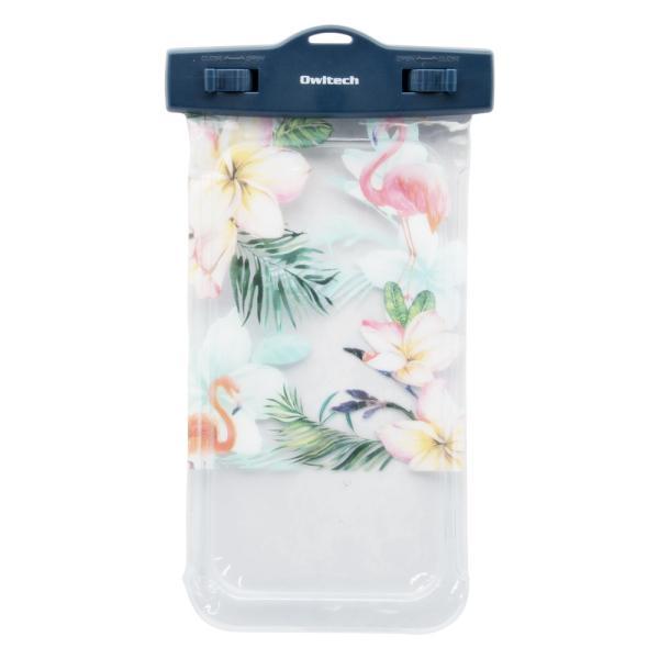 防水ケース スマホ iPad IP68 防水 防塵 ストラップ付 かわいい 増税前スペシャルセール|owltech|10